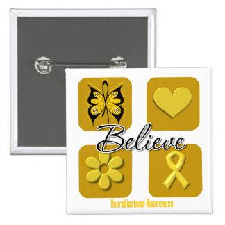 Believe Inspirations Neuroblastoma Pin