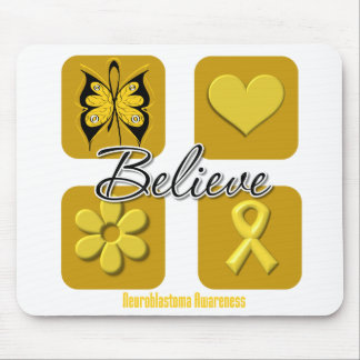Believe Inspirations Neuroblastoma Mousepads