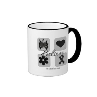 Believe Inspirations Skin Cancer Mugs