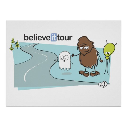 Believe It Tour Poster