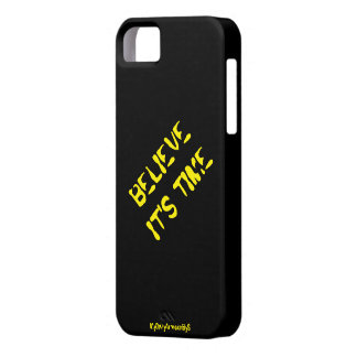"""Believe It's Time"" Phone iPad iPod Case"