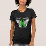 Believe - Kidney Cancer Butterfly T Shirt
