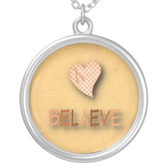 Believe Leukaemia Necklace