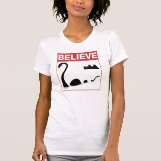Believe Loch Ness Monster Tee Shirts
