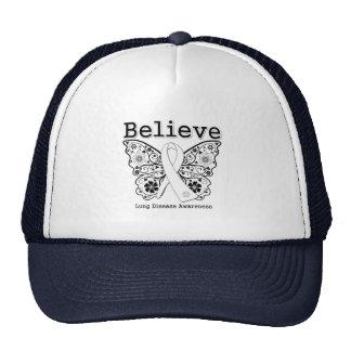 Believe Lung Disease Awareness Hat