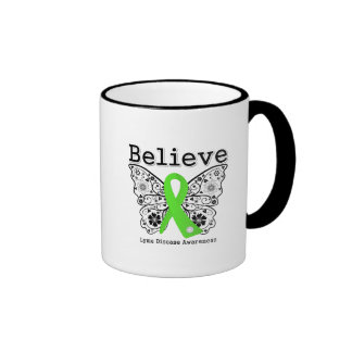 Believe Lyme Disease Awareness Mugs