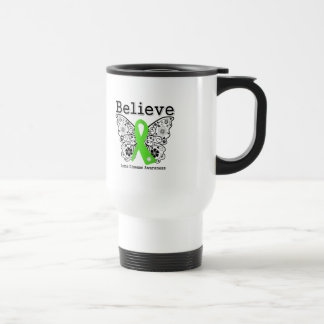 Believe Lyme Disease Awareness Stainless Steel Travel Mug