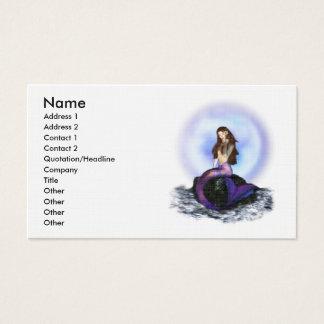 Believe Mermaid Business Card
