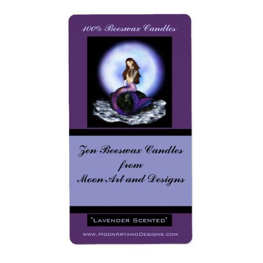 Believe Mermaid Craft or Wine Label 2