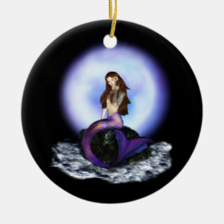 Believe Mermaid Ornament