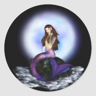 Believe Mermaid Stickers