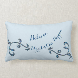 Believe Miracles Can Happen Lumbar Cushion