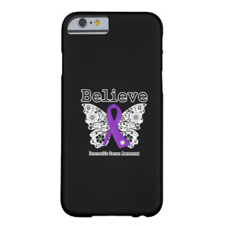 Believe - Pancreatic Cancer Butterfly Barely There iPhone 6 Case