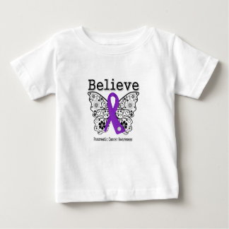 Believe - Pancreatic Cancer Butterfly Infant T-Shirt