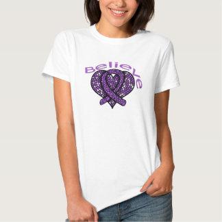 Believe Pancreatic Cancer Tshirt