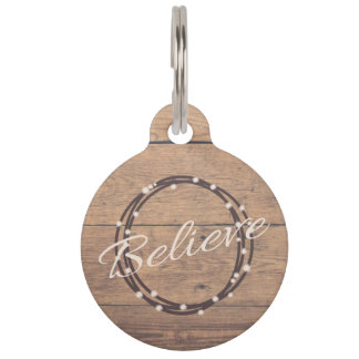 Believe Pet ID Tag