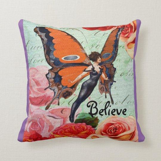 Believe Pillow - Purple