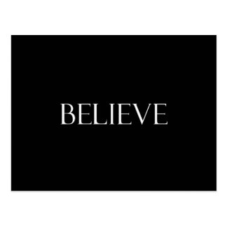 Believe Quotes Inspirational Faith Quote Postcard