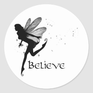 Believe Round Sticker