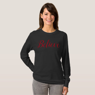 Believe Santa Shirt