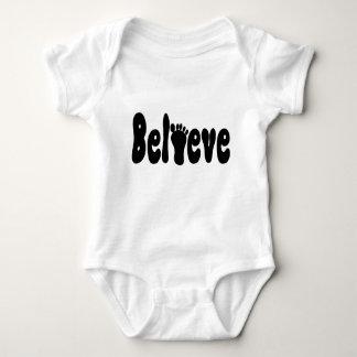Believe Sasquatch Baby Bodysuit