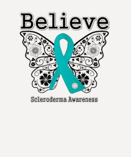 Believe Scleroderma Awareness Shirts