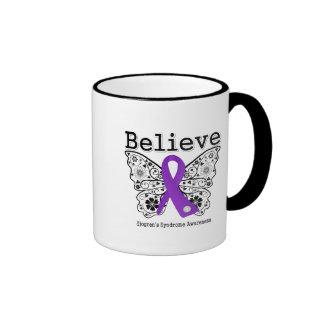 Believe Sjogren Syndrome Ringer Mug