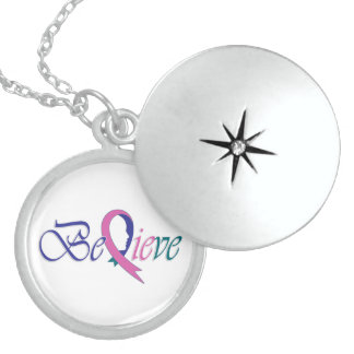 "Believe ""Special-Necklace"" Round Locket Necklace"