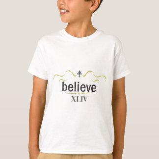 believe tee shirt