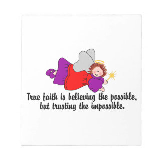 Believe The Possible Notepad