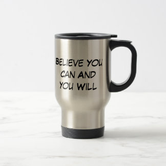 Believe Travel Mug