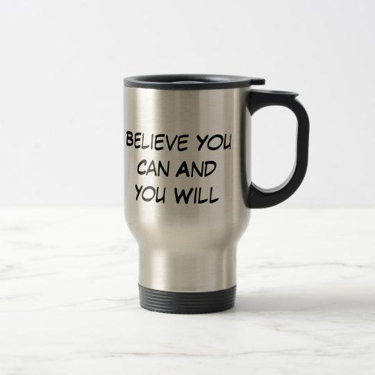 Believe Travel Mug