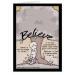 Believe Tree Greeting Card