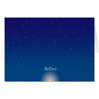 Believe - Winter Solstice Greeting Card