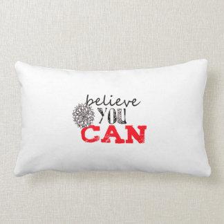 Believe you Can Lumbar Cushion
