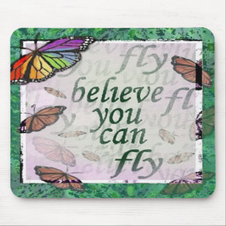 Believe you can mouse pad