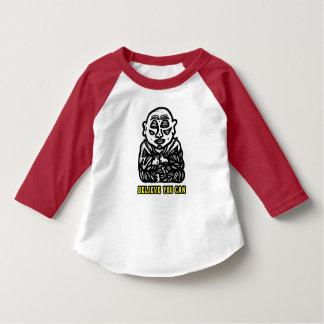 """Believe You Can"" Toddler 3/4 Sleeve Raglan T-Shir T-Shirt"