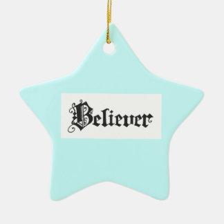 Believer Ornament