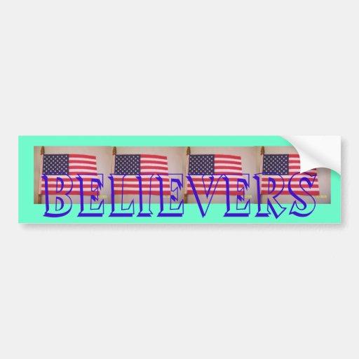 BELIEVERS BUMPER STICKERS