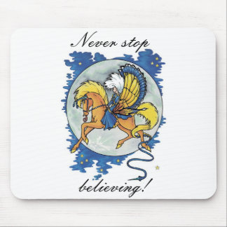 Believing! Mousepad