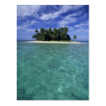 Belise, Barrier Reef, Unnamed island or cay. Postcards