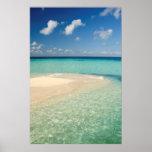 Belise, Caribbean Sea. Goff Caye, A Small Island Poster