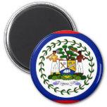 Belise Flag 6 Cm Round Magnet