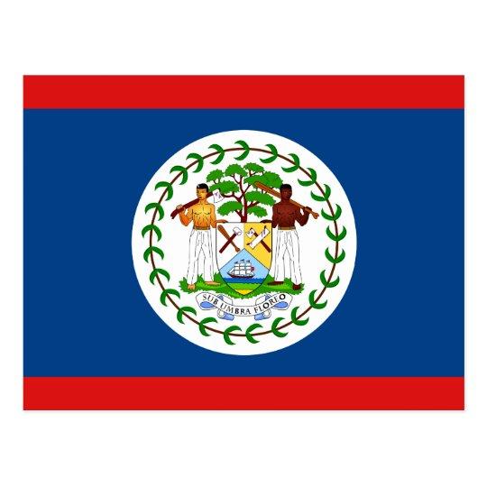 Belise Flag Postcard