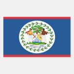 Belise Flag Rectangle Sticker