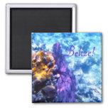 Belise! Purple Sea Fan Magnets
