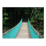 Belise Wooden Bridge Postcard