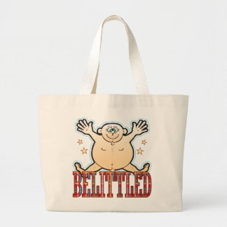Belittled Fat Man Large Tote Bag
