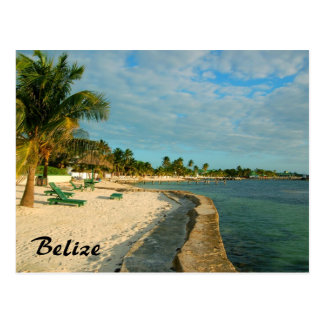 Belize Beach Postcard