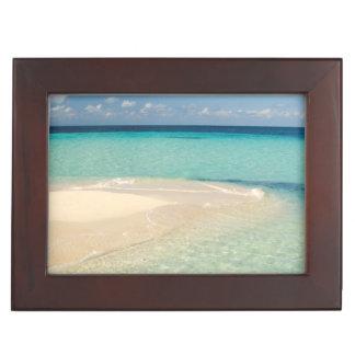 Belize, Caribbean Sea. Goff Caye, A Small Island Keepsake Box